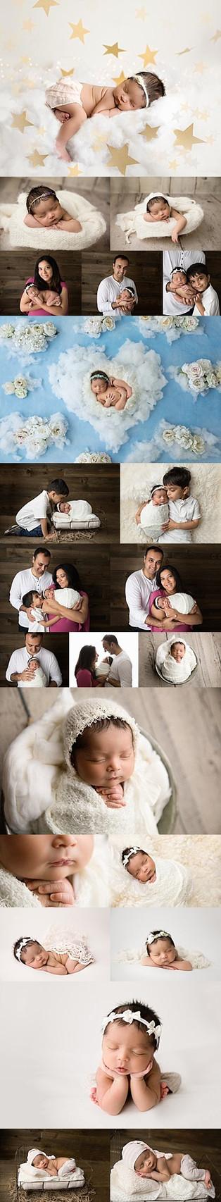 New Jersey Bergen County Newborn Photographer  | Beautiful baby Sia.