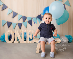 New Jersey Bergen County Milestone Photographer  | Maddox is one!