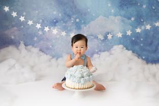 New Jersey cake smash Photographer    Caleb is back!