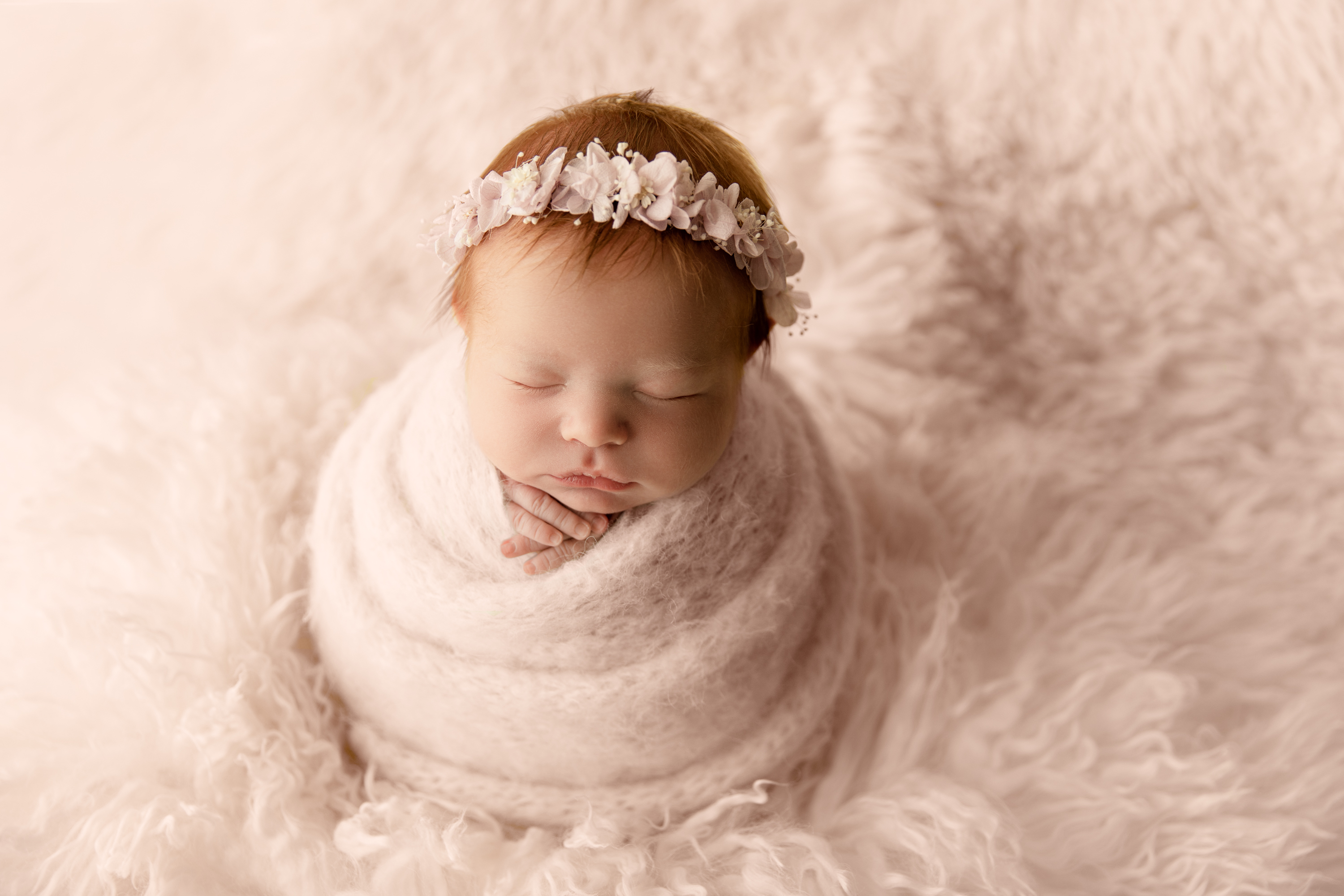 NJ newborn photographer baby girl