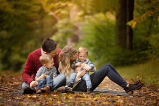 NJ Family Photographer Bergen County  | Fall Family Session