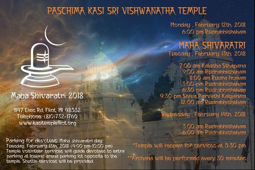 Maha Shiva Ratri Events