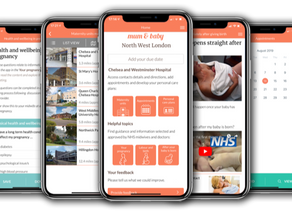 Mum & Baby app goes national! Now available for all NHS England maternity areas