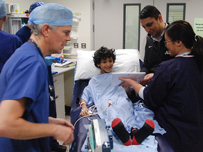 Innovation award for app which relaxes children before surgery