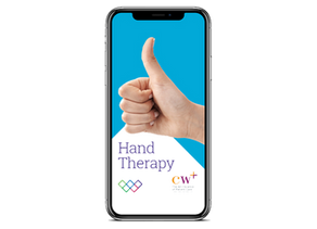 Thumbs up for the Hand Therapy app