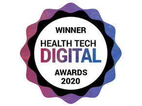 5th October 2020 | Mum & Baby wins top prize  at the Health Tech Digital Awards 2020