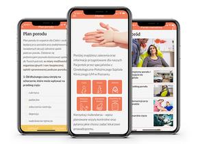 Mum & Baby app created for Polish hospital