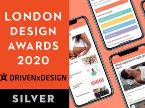 19th November 2020 | Mum & Baby app announced Digital Health winner at the London Design Awards 2020
