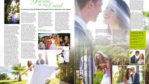 Featured in Confeti Magazine - Laura & Tom's Australian Wedding.