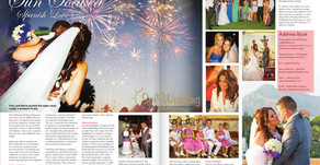 Featured in Confeti Magazine - Fran+Rocio Sun Soaked Spanish Love Story