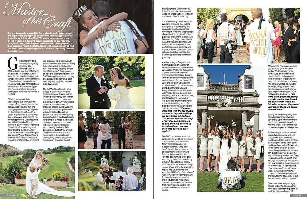 article about sol wedding marbella