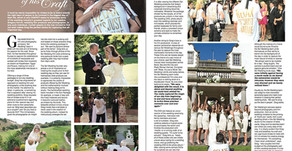 Featured in Confeti Magazine - Lovely article about Sol Wedding Marbella!