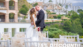 Early Wedding Booking 2022 Discount Promo Offer!