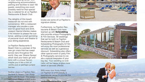 Featured in Confeti Magazine - Le Papillon Beach Club & Restaurant