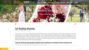 Featured in Marbella Bride website - Sol Wedding Marbella