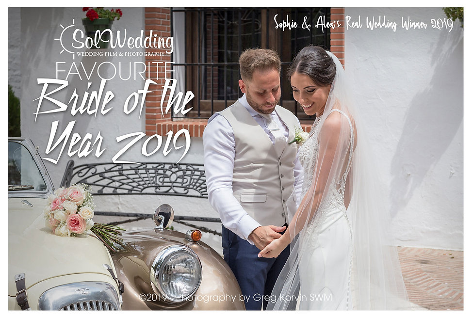 winner bride of the year 2019
