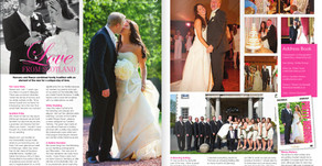 Featured in Confeti Magazine - Romana & Reece, Love from Scotland
