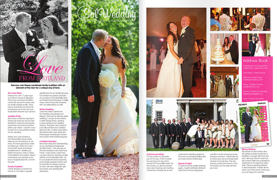 wedding film and wedding photography scotland