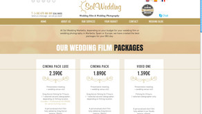 Our NEW Sol Wedding responsive website in English is available!