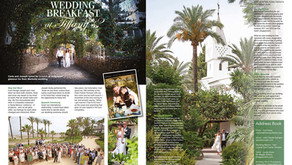 Featured in Confeti Magazine - Carla & Joseph's Wedding Breakfast at Tiffany