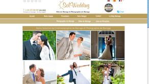 Notre site web est disponible en Français - Sol Wedding