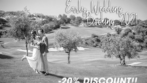 Wedding Booking 2021 Discount Offer!
