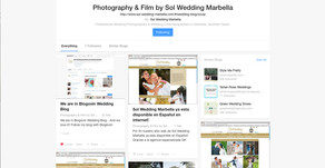 Follow us on Bloglovin - Our public Blog at Sol Wedding Marbella