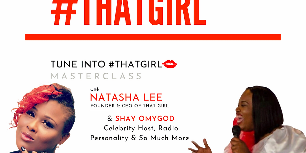Masterclass: Shay OMyGod - Hosting an Event /  Working in the Entertainment Industry / Being Your Own Boss