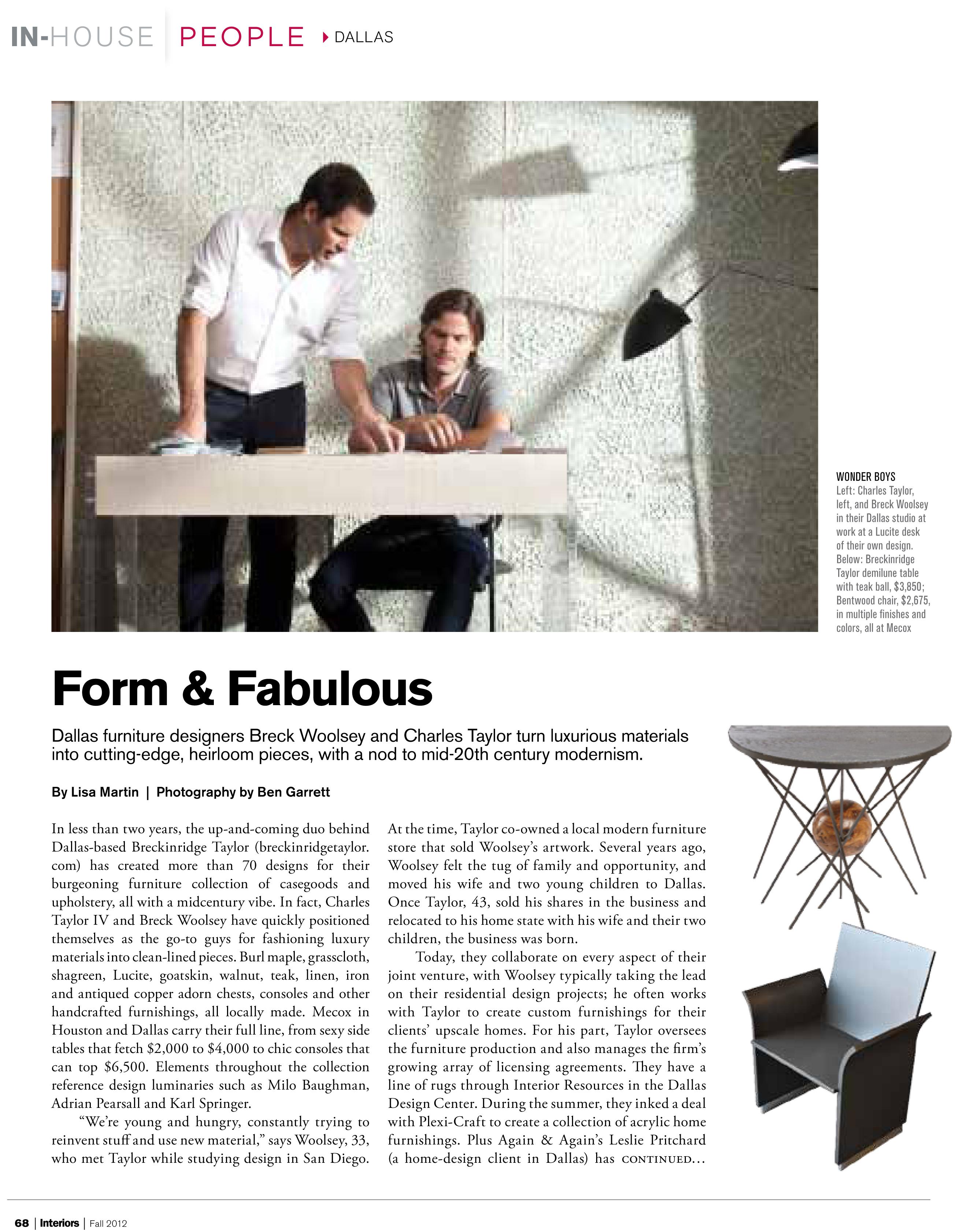 Interiors Magazine-1