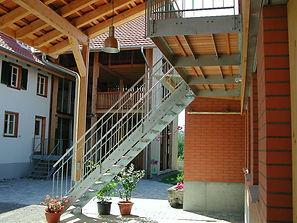 Treppe, Geländer, Balkon