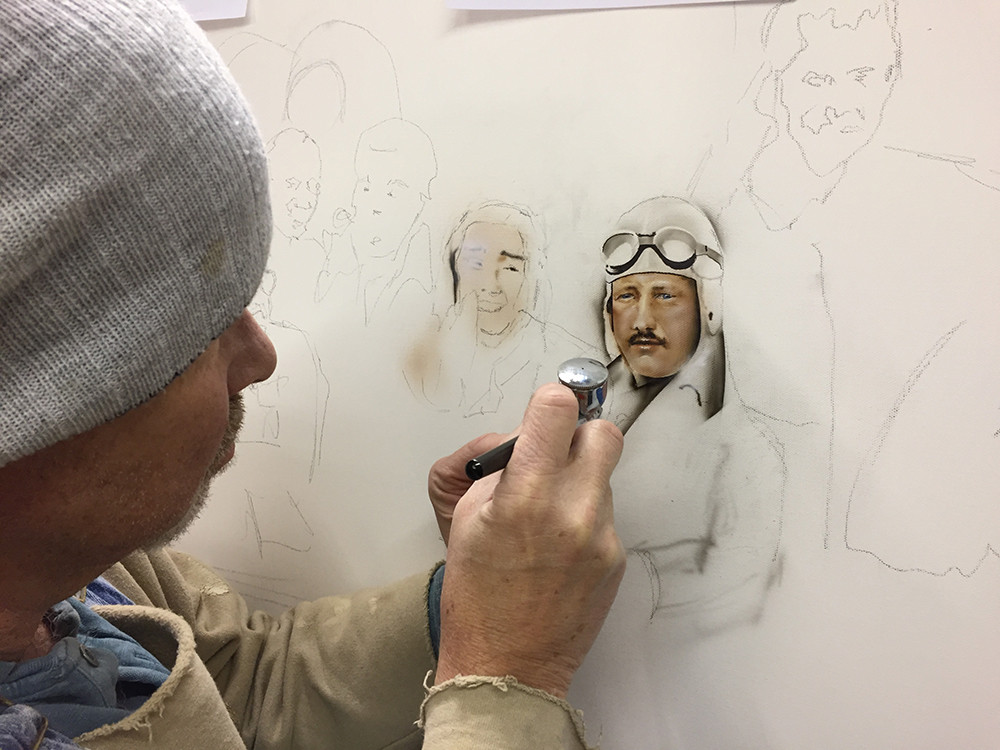 Painting The Formula One Legend Supper