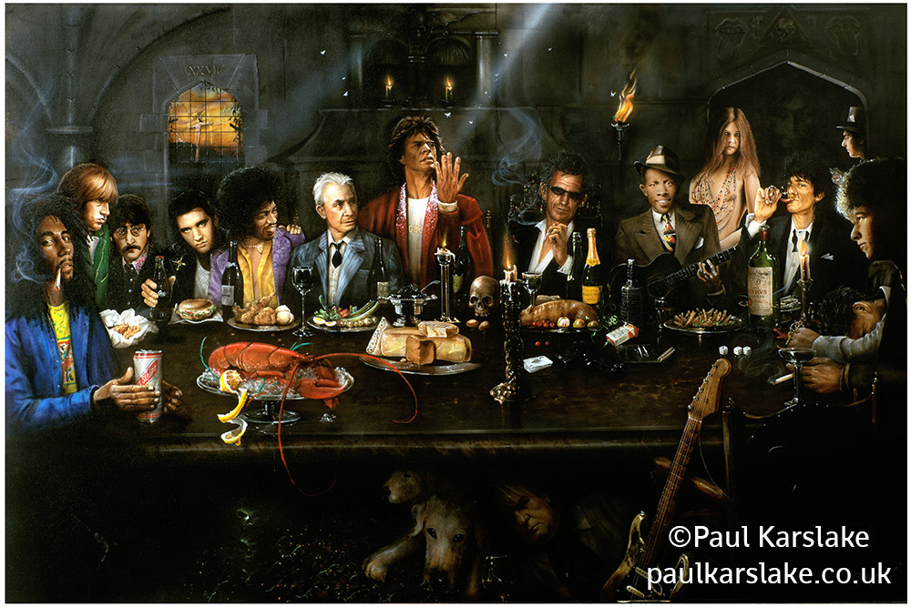 The Rock and Roll Last Supper