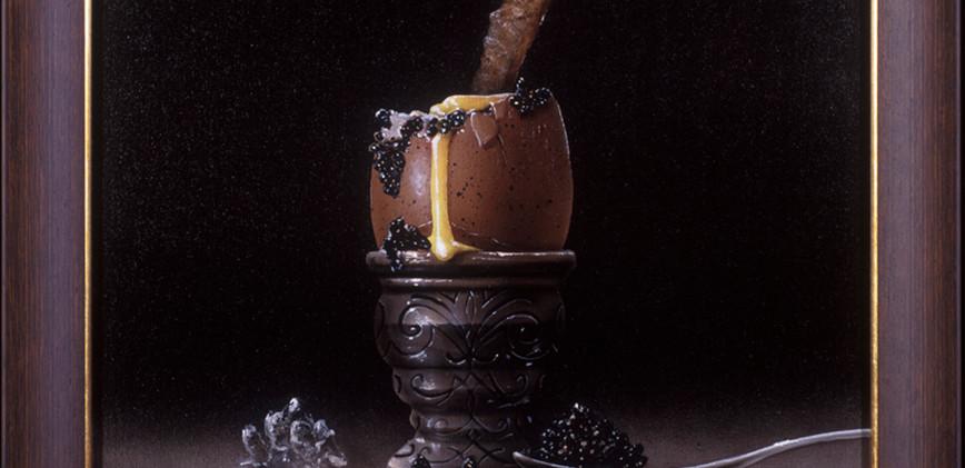 Soft Boiled Egg with Caviar