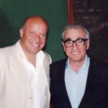 Paul Karslake and Martin Scorsese