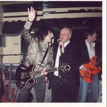 Paul Karslake and Ronnie Wood