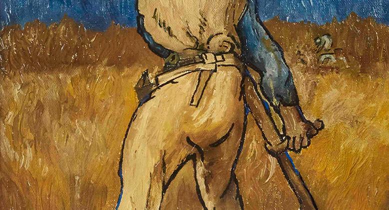 Van Gogh - The Reaper Orangina