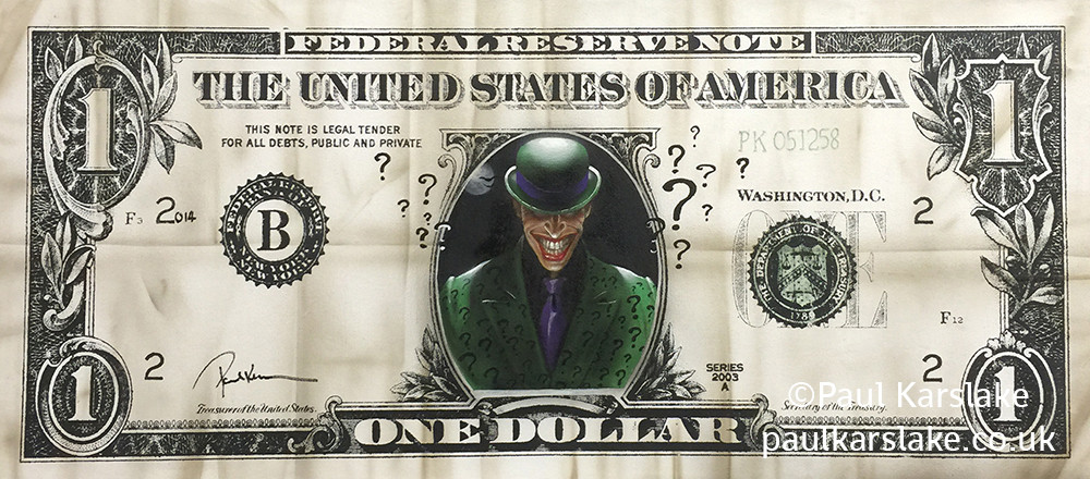 The Riddler - Dollar