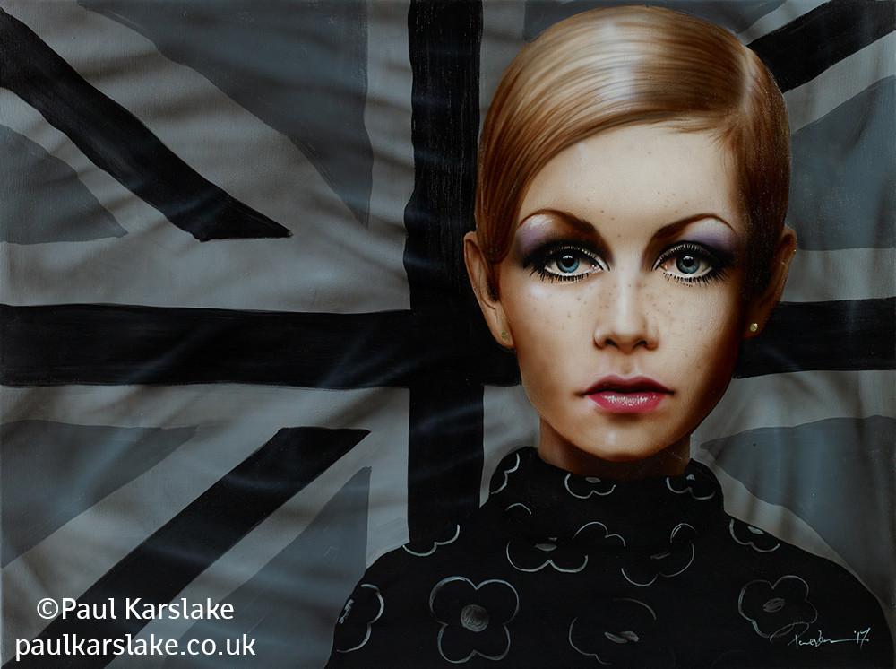 Twiggy - The London Look