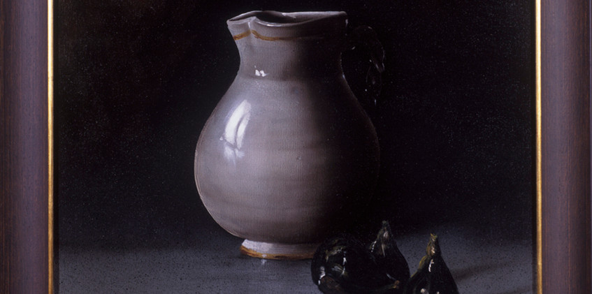 Ancient Pot with Figs