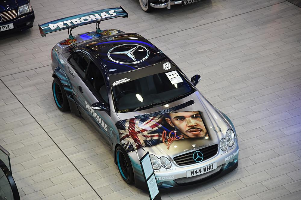 Lewis Hamilton AMG 550 Mercedes