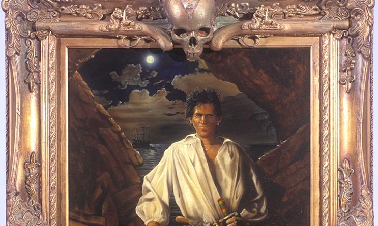 Kieth Richards as a Pirate