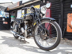 Rudge classic motorcycle