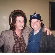 Paul Karslake with John Hurt