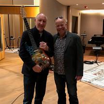 Paul Karslake and Pete Townshend
