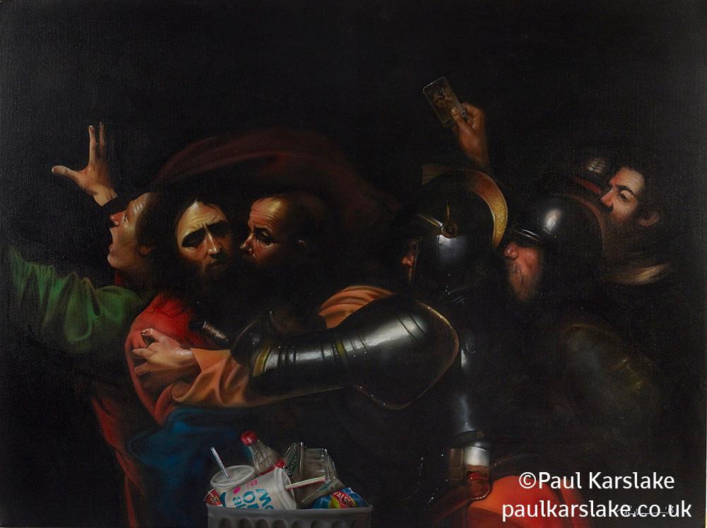 Caravaggio - The Taking of Christ