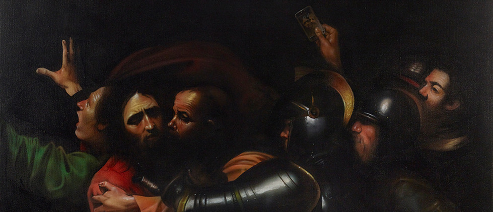 Caravaggio - The Taking of Christ