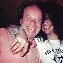 Paul Karslake and Slash