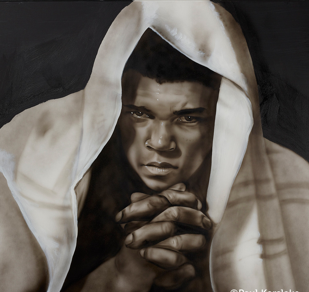 Muhammad Ali - Never throw in the towel