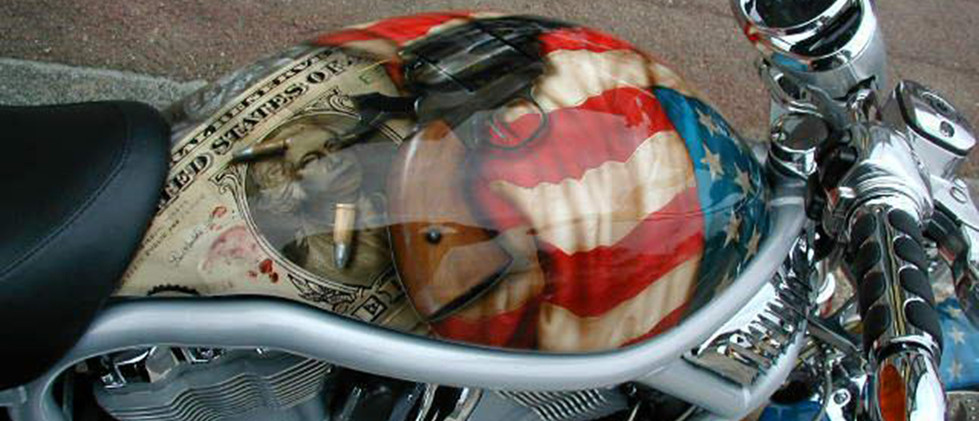 Blood Money Harley Davidson V-Rod