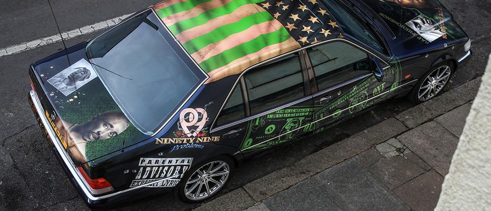 500 Mercedes Gangsta Limo
